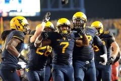 2014 le football de NCAA - le WVU-Oklahoma Photo stock