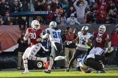 2015 le football de NCAA - Memphis au temple Photographie stock