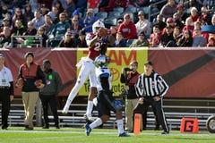 2015 le football de NCAA - Memphis au temple Photographie stock libre de droits