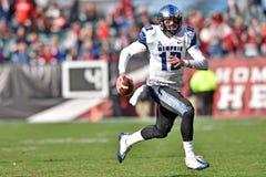 2015 le football de NCAA - Memphis au temple Images libres de droits