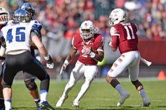 2015 le football de NCAA - Memphis au temple Photos stock