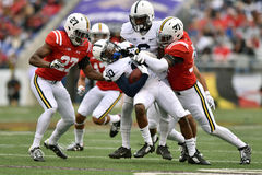 2015 le football de NCAA - Penn State contre Le Maryland Photos libres de droits