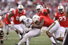 2015 le football de NCAA - Penn State contre Le Maryland Image libre de droits