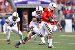2015 le football de NCAA - Penn State contre Le Maryland Image stock