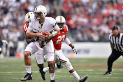 2015 le football de NCAA - Penn State contre Le Maryland Photographie stock libre de droits