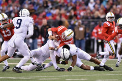 2015 le football de NCAA - Penn State contre Le Maryland Photos stock