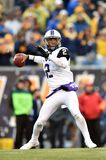 2014 le football de NCAA - TCU-WVU Images libres de droits