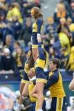 2014 le football de NCAA - TCU-WVU Photo stock
