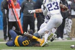 2014 le football de NCAA - TCU-WVU Image stock