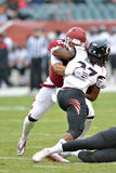 2014 le football de NCAA - Temple-Cincinnati Images stock