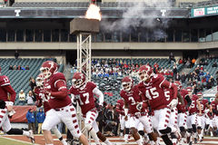 2014 le football de NCAA - Temple-Cincinnati Photo libre de droits