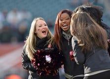 2014 le football de NCAA - Temple-Cincinnati Photos libres de droits