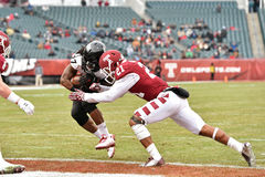 2014 le football de NCAA - Temple-Cincinnati Images libres de droits