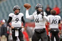 2014 le football de NCAA - Temple-Cincinnati Images libres de droits