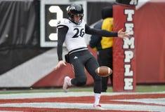 2014 le football de NCAA - Temple-Cincinnati Photo stock