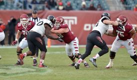 2014 le football de NCAA - Temple-Cincinnati Photographie stock