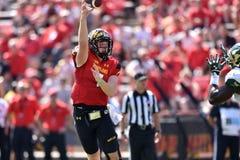 2015 le football de NCAA - USF @ le Maryland Photos stock