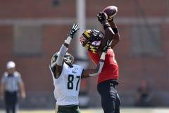2015 le football de NCAA - USF @ le Maryland Images libres de droits