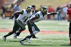 2015 le football de NCAA - USF @ le Maryland Photo stock