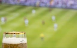 Le football de observation Photos libres de droits