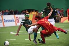 Le football de Paralympic Photos stock