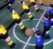 Le football de table Image stock