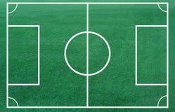 le football de zone Images libres de droits