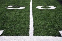le football de zone Photo stock