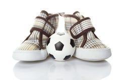 Le football des enfants images libres de droits