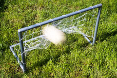 Le football du football Images libres de droits
