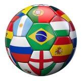 Le football du monde Photographie stock