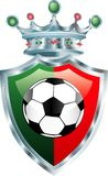 Le football du Portugal Image stock