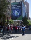 Le football : Finale 2010 de ligue de champions Photo libre de droits