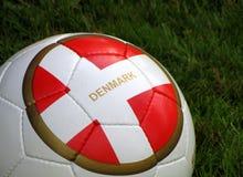 Le football. Le Danemark. Euro 2012 Image libre de droits