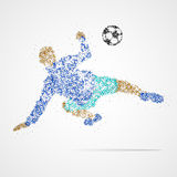 Le football, le football, sport, athlète Photographie stock libre de droits