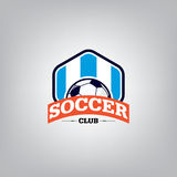 Le football Logo Design Template Images stock