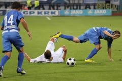 Le football ou le football Photos stock