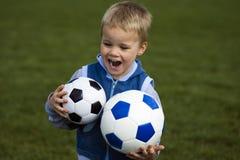 Le football pour des enfants Images libres de droits