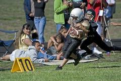 Le football prennent vers le bas aux 10 Images stock