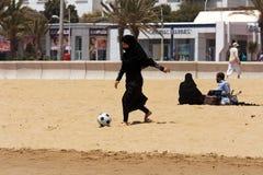 Le football sans frontières pour tous Photographie stock