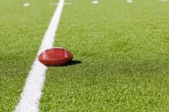 Le football sur la zone Image stock