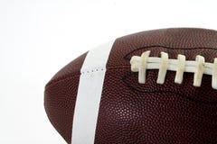 Le football sur le blanc Image libre de droits