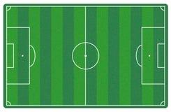 Le football/terrain de football   Image stock
