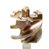 Le foret pour des ouvertures pour le perforateur industriel Photographie stock libre de droits
