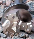 Le foret pour des ouvertures pour le perforateur industriel Photographie stock