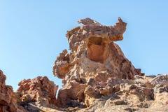 Le formazioni rocciose allo Stadsaal frana le montagne di Cederberg fotografia stock