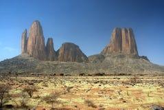 Le formazioni rocciose del Main de Fatima nel Mali Immagini Stock Libere da Diritti