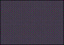 Le forme multicolori astratte su un fondo nero Fotografie Stock Libere da Diritti