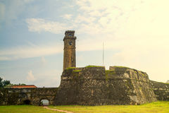 Le fort à Galle image stock