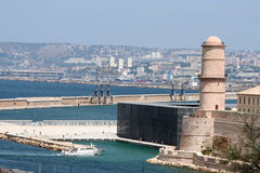LE fort Άγιος Jean, Μασσαλία, Γαλλία Στοκ Φωτογραφία